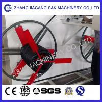 Plastic Hdpe Pipe Coiling Machine Coil Winding Machines 50m / Min Manufactures
