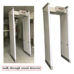 18 33 Zones Body Metal Detectors Outside Waterproof Walk Through Metal Inspection Gate Manufactures