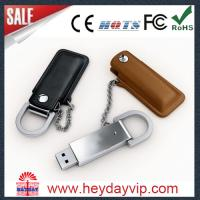 leather 32gb usb flash drive real capacity high speed Manufactures