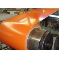 Orange Color Pre Painted Galvanized Coils For Prefabricated House Warehouse for sale