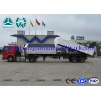 High strength steel 2 axles side tipper trailer with mechanical suspension Manufactures