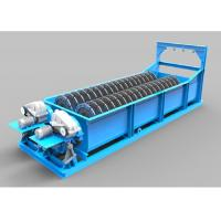 Sinking Type  Screw Sand Washing Machine For Long Narrow Shape Cell Body Sand Manufactures