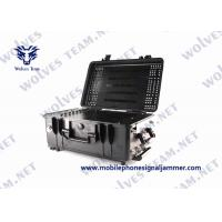 Waterproof Convoy Vehicle Bomb Jammer Full Band Frequency RF WIFI Cell Phone Signal Jammer Manufactures