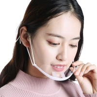 Clear ABS PET Hygiene Face Mask For Reception Staff Manufactures