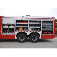 9920 × 2480 × 3320mm Dimension Fire Equipment Truck Manufactures