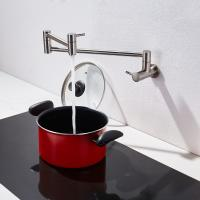 Cold water faucet stainless steel valve tap pot filler with two handle shut off Manufactures
