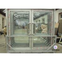 China Outdoor Event Tent Single Tempered Saftety Glass Aluminum Alloy Casement Door For Shopping Mall on sale