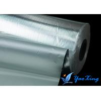 Thin  Light Weight Aluminum Coated Fiberglass Good Heat Insulation Weather Resistance Manufactures