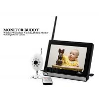 4 Channel Long Range Wide Angle Wireless Security Cameras System 2.4GHz - 2.485GHz Manufactures