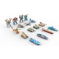 Collectible Toys | Gifts & Premiums Variety 3D Puzzle 16 Figurines | Ship,Robot,Plane,Tank Manufactures