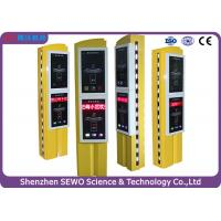 China Rotary  Steel & Tempered Glass Bilayer Car Parking Ticket System on sale