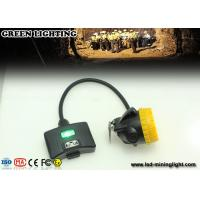 Buy cheap ABS Material 15000lux  IP68 Waterproof  Semi - Corded Underground Mining Lights With Warning Lights from wholesalers