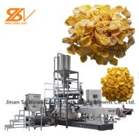 Professional Corn Flakes Production Line Breakfast Cereals Making Machine Manufactures