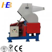Double Shaft Recycle Plastic Crusher Machine Smashing Nylon / Engineering Plastic / Injector Manufactures