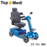 141*71*93 cm Electric Mobility Wheelchair scooter with adjustable backrest and seat height Manufactures