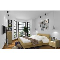Quality Cheap Apartment Furniture Space Saving New Residence Bedroom Fabric Upholstered for sale