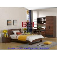 2016 New Nordic design by Wlalnut Kids Bedroom Furniture in Single bed and Nightstand with Reading Bookcase Manufactures