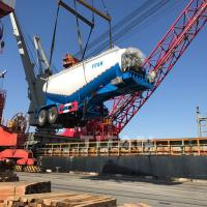 Bulk trailers cement bulk trailers sale TITAN high quality bulk cement trailer withdieselengine for sale Manufactures