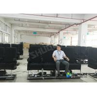 Motion Chair 4D Movie Theater With Special Systerm And Metal Screen Manufactures