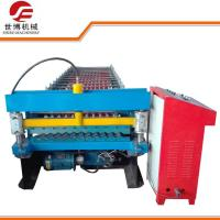 Bule Color Floor Deck Roll Forming Machine With High Precision UCT Bearing Manufactures