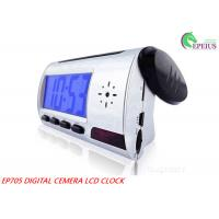 Voice Recording Wifi Camera Clock With Remote Controller / 1280 * 960 Resolution Manufactures