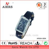Black Leather Watch (ARS04-8504) Manufactures
