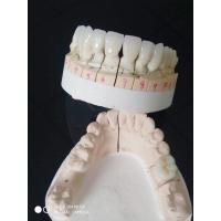 1M1 Shade Full Contoured Zirconia Crown & Bridge With FDA ISO Certificate Manufactures