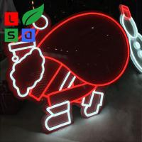 Small Custom Neon Sign DC12V LED Shop Display For Christmas Decoration Manufactures