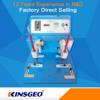 Wear Resistant Rubber Testing Equipment , Leather / Cloth / Coating Abrasion Testing Equipment Manufactures