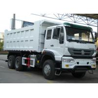 40 Ton Heavy Commercial Trucks Dump Trucks 336HP Horse Power T Style Lifting System Manufactures