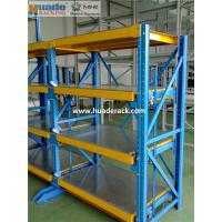 Heavy Duty Drawer Mold Storage Racking System Hoist Crane Mould Shelves Manufactures