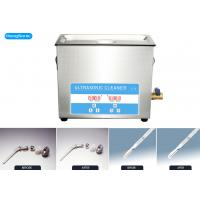 SUS304 Tank Ultrasonic Cleaning Machine , Digital Heating Ultrasonic Instrument Cleaner Manufactures