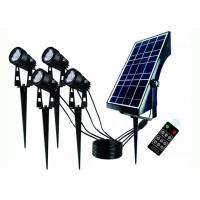 5W Outdoor Motion Sensor Waterproof Wall Lighting Led Solar Garden Lamp Lights With Panel Manufactures