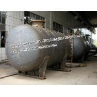 Galanized Steel Industrial Pressure Vessel Vertical Storage Tank Equipment Manufactures