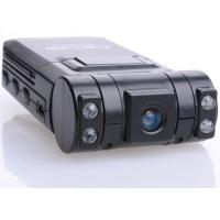 Dual Lens car video camera recorder/night vision vehicle DVR / car black box X1000 Manufactures