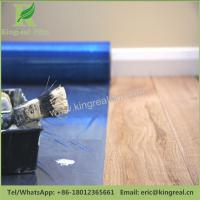 Blue Color PE Self Adhesive Floor Protection Film during Decoration Manufactures
