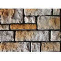 China Colorful Artificial Wall Stone For Interior / Exterior Wall Decoration Irregular Size on sale