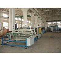 China 3-30mm PVC Foam Board Extrusion Line With Twin Screw , WPC Foam Board Production Line on sale