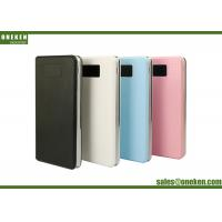 Ultra Thin 8000mah Lcd Display Power Bank And Usb Chargers For Cell Phones Manufactures