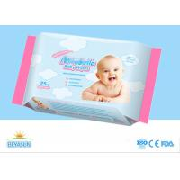 China Adult / Baby Disposable Wet Wipes Unscented Flushable For Sensitive Skin on sale