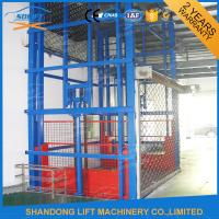 Hydraulic Vertical Lifting Equipment , 2 Ton Warehouse Heavy Duty Lift Tables Manufactures