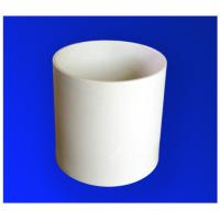 Quality Precision High Voltage 95% AL2O3 / Alumina Ceramic Tubes With Grind- Resist for sale