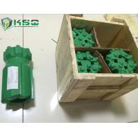 Hard Rock Drilling Tools , Tungsten Carbide Thread Button Bit Manufactures