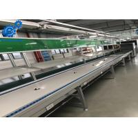 Aluminium Profile Electronics Assembly Line With PU Belt Conveyor / Workbenches Manufactures