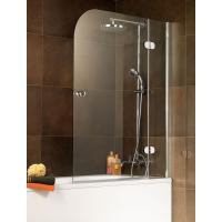 China Tempered Frameless Shower Enclosure Glass 1400x800 Mm High Polished Edges on sale