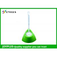Bathroom Cleaning Accessories Antibacterial Toilet Brush Set For Home / Hotel Manufactures
