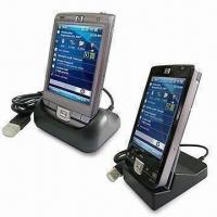 China USB Hot-swap Synchronized and Charging Cradle, Suitable for HP iPaq 110& HP 210 on sale