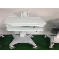 Medical Working Station Patient Monitor Stand Hydraulic Laptop Computer Cart Manufactures