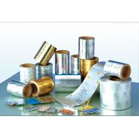 Al-pet Aluminium Foil Roll  With Polyester Mylar Film Laminated For Coxial Cable Manufactures