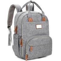 Backpack Travel Baby Diaper Bags , Maternity Baby Changing Bags Printing Logo Manufactures